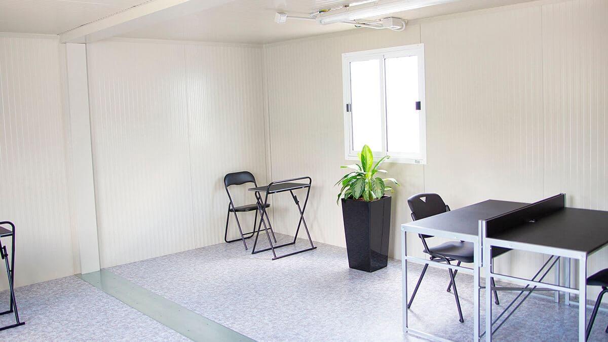 Мобільний офіс, 2 кімнати 480х600, New House, Італія