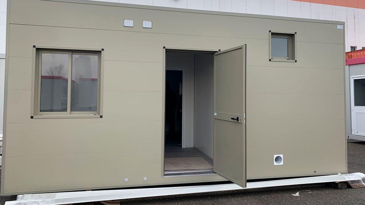 Модульний контейнер з індивідуальним дизайном фасаду, New House, Італія