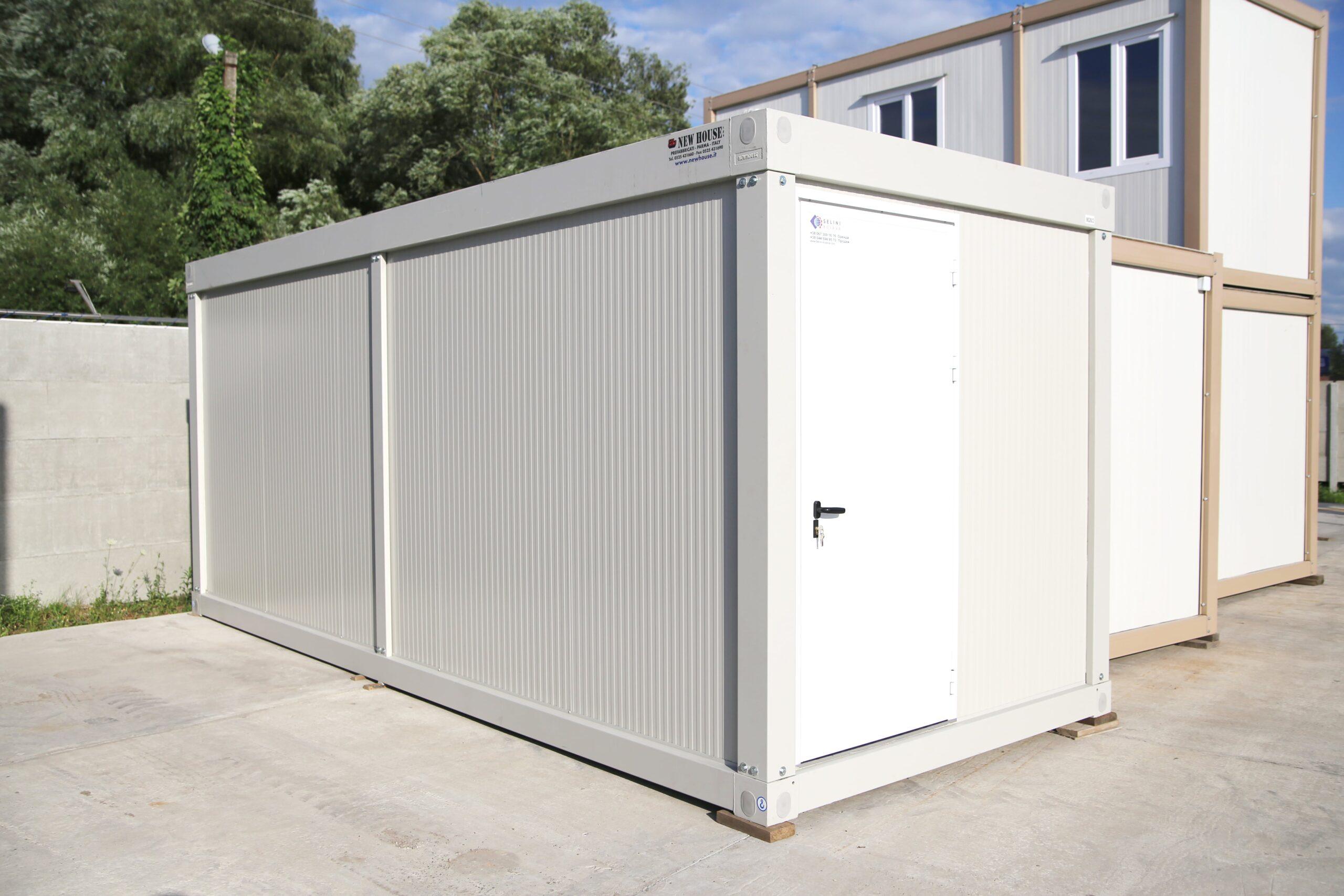 Модульний контейнер 240х600, серія М1, New House, Італія