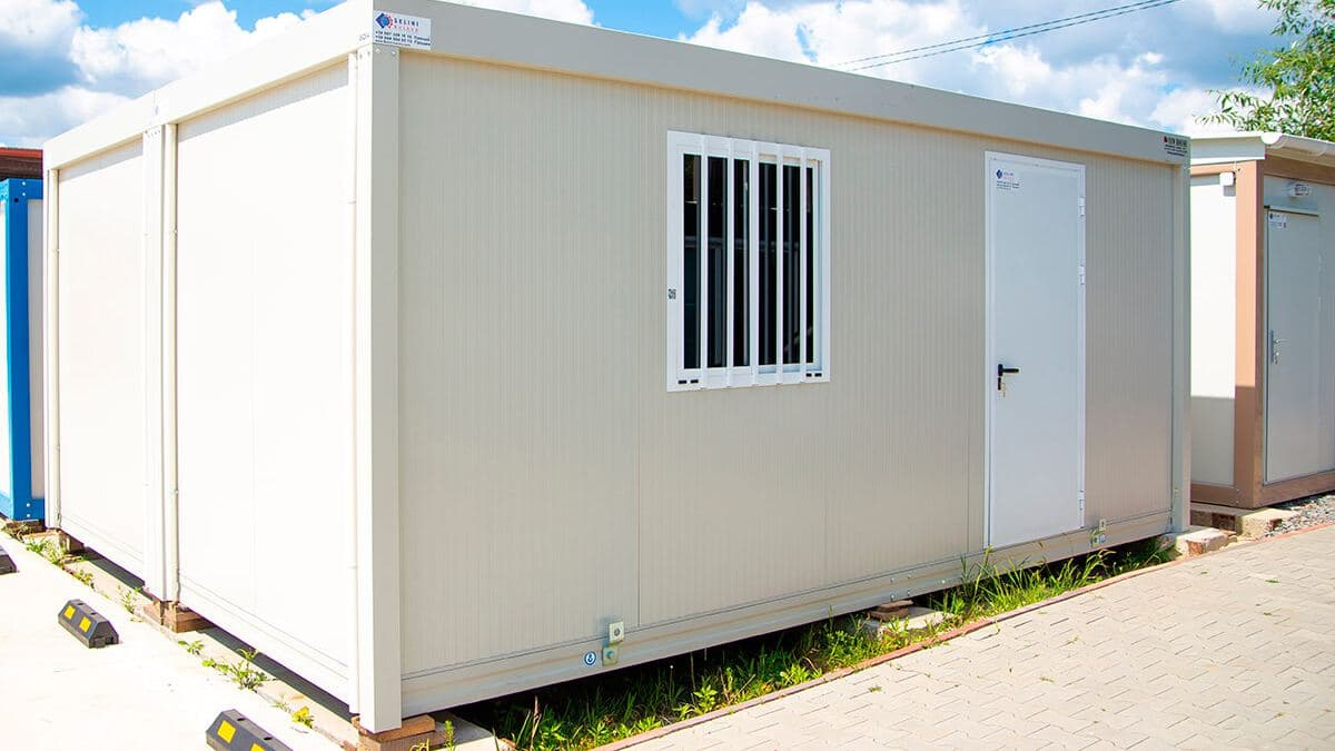 Модульний офісний контейнер, 480х700, серія 2000, New House, Італія