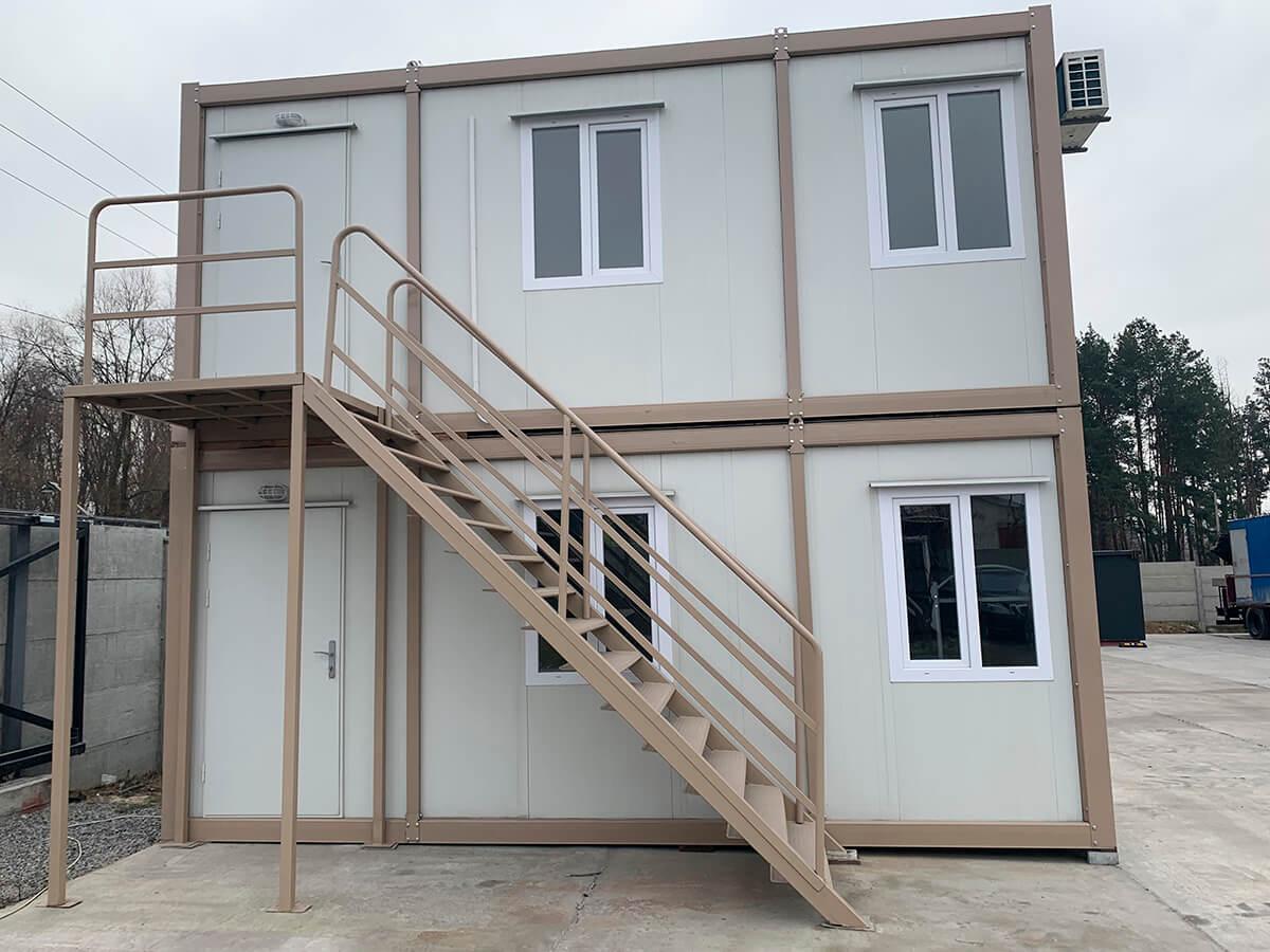 Збірний контейнер, 2 поверхи, 600х700, Кармод