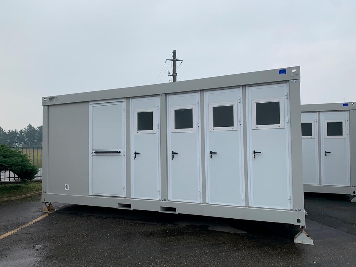 Сантехнічний модульний контейнер 240х600, New House, Італія