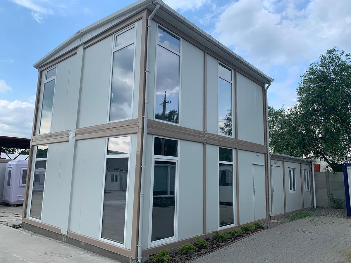 Модульний офіс двоповерховий 600х700, Кармод